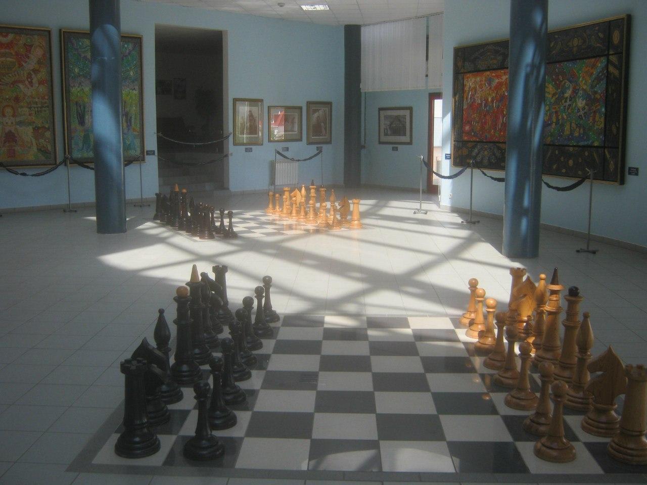 Дворец шахмат в элистинских Нью-Васюках