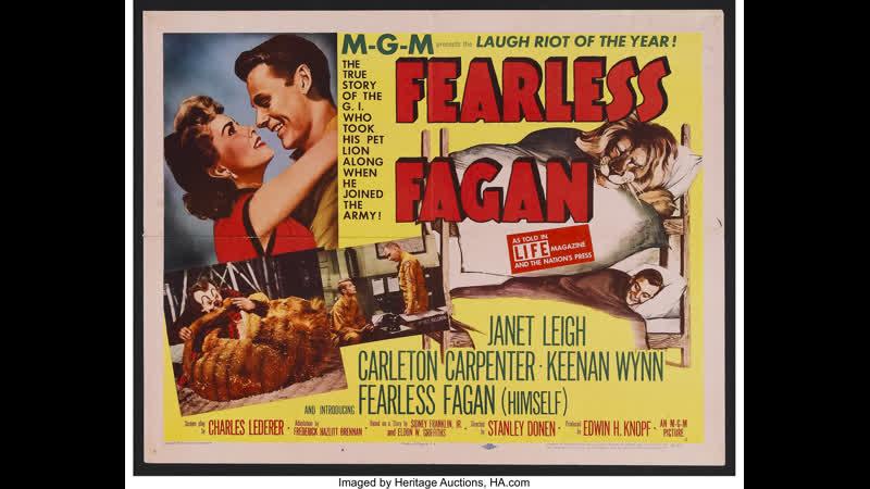 Fearless Fagan (1952) Janet Leigh, Carleton Carpenter, Keenan Wynn