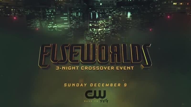 DCTV Crossover Teaser 3 Elseworlds Promo- The Flash, Supergirl, Arrow Crossover