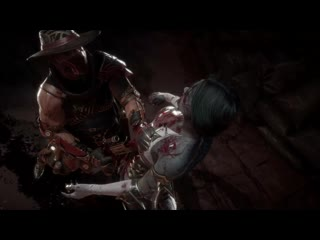 Fatality Эррон Блэка #2 Mortal Kombat 11