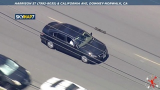 Police chase speeding vehicle driving recklessly across L.A. County   ABC7 Los Angeles