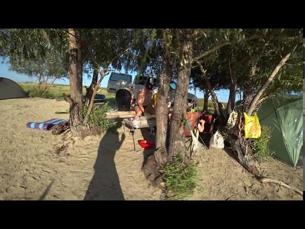 Дикий пляж Бухтармы 2020