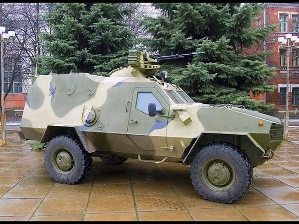 Український військовий позашляховик проти російського гамнотигра