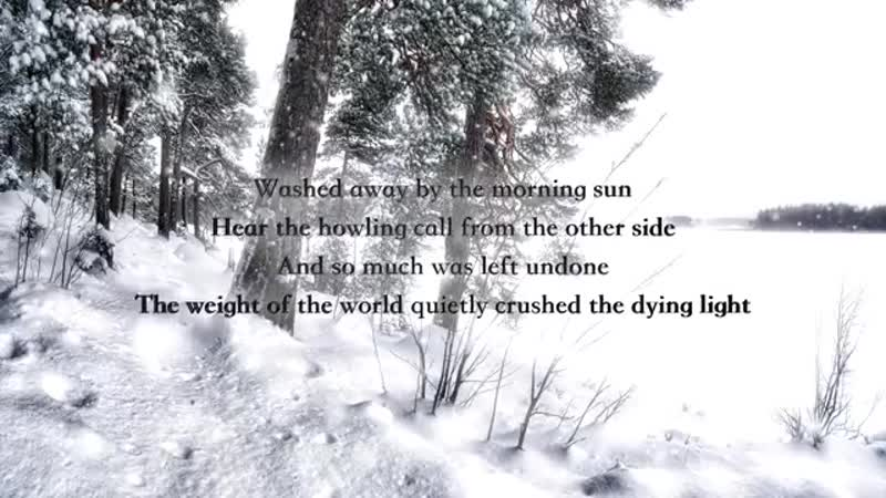 Wintersun Loneliness Winter Official Lyric Video
