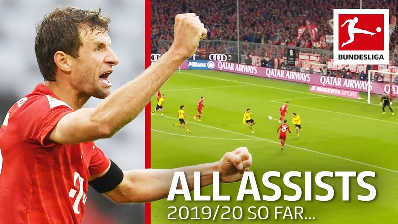 Thomas Müller - All Assists so far in 201920 - New Record