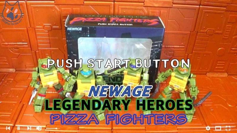 NEWAGE LEGENDARY HEROES PIZZA FIGHTERS teenage mutant ninja turtles 트랜스포머 닌자거북이