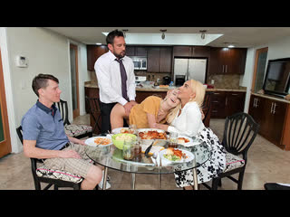 Teamskeet - Step Family Dinner / Kenna James, Kylie Kingston