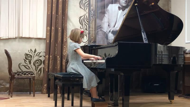 Выступление на концерте-лектории посвящённом русской музыке,