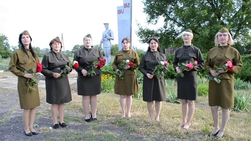 Видео сюжет в ознаменование 75 й годовщины Победы в ВОВ 1941 1945г и Парада Победы 24 июня 2020г