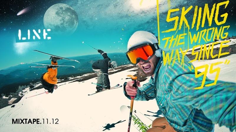 LINE Skis Team Mixtape 2011 - Skiing the Wrong Way Since 95