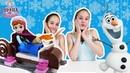 Страна девчонок • ХОЛОДНОЕ СЕРДЦЕ: Соня и Полина строят ледяной дом ЛЕГО.