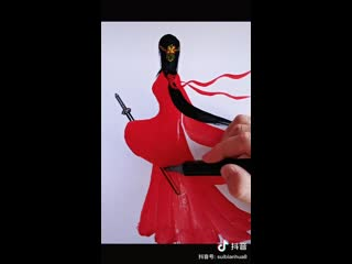 Рисуем красавицу в китайском стиле