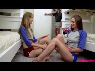 Haley Reed, Kyler Quinn - Брат нагнул двух своих сестёр  [порно, ебля, инцест, минет, трах,секс,измена]