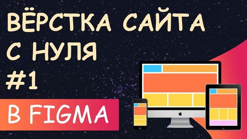 Верстка сайта с нуля из Figma - настройка проекта 1