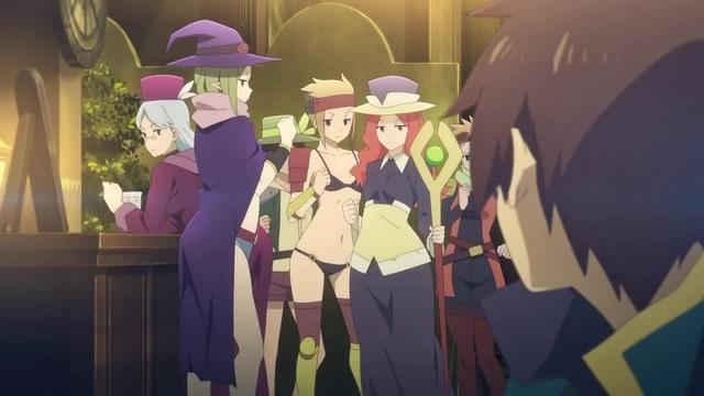 Anime name: KonoSuba: God s Blessing on this Wonderful World! Legend of Crimson Flo Rida Whistle AMV anime MIX anime REMIX