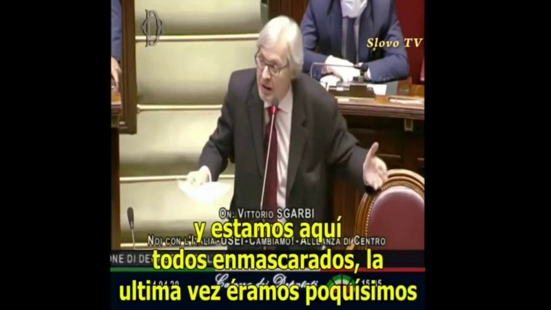 Пошла волна разоблачений Обличительная речь депутата итальянского парламента