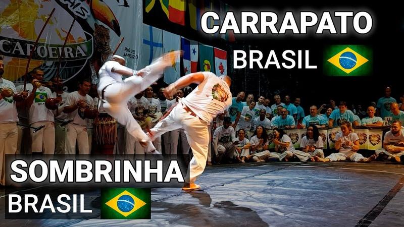 CARRAPATO SOMBRINHA JOGOS MUNDIAIS ABADA Capoeira