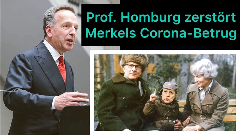 Prof Homburg zerstört Merkels Corona Betrug 09 05 2020 in Stuttgart