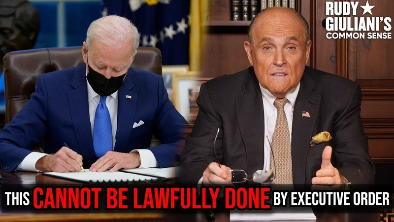 This CANNOT BE LAWFULLY DONE By Executive Order Immigration Reform Rudy Giuliani Ep 108