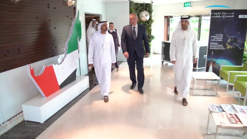 Визит делегации Роскосмоса в ОАЭ