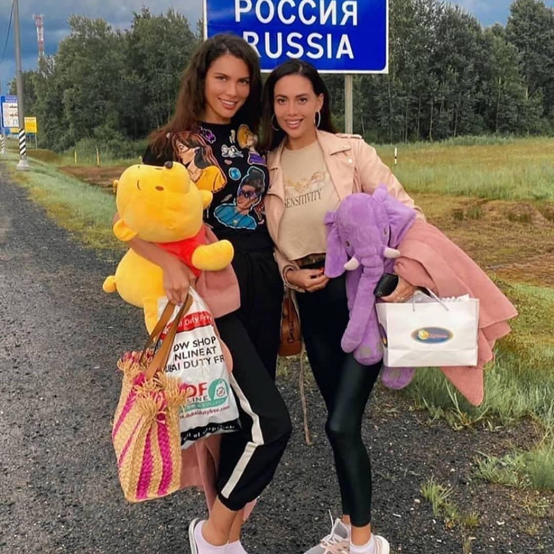 Алеся Семеренко и Юлия Белая вернулись в Россию