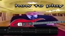 How to Play WIDE PUTIN on guitar METAL - FREE TAB BACKING TRACK