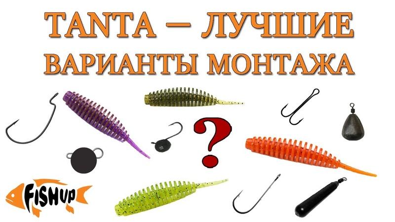 FishUp Tanta — ЛУЧШИЕ ВАРИАНТЫ МОНТАЖА силиконовой приманки ( джиг риг)