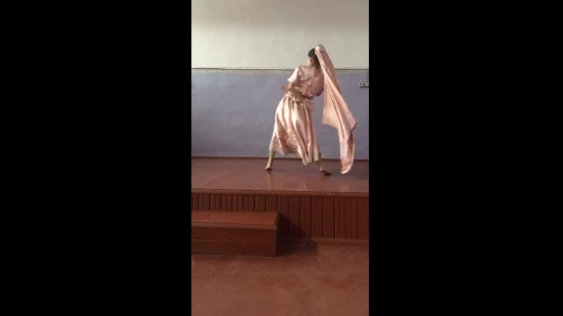 7. Башарымова Ангелина, танец «Чамма» (пост. Ю.Разоренова, Ю. Шкляр)