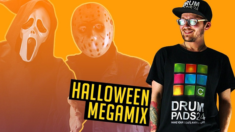 HALLOWEEN ALL DRUM PADS 24 APP MIX BY MOSKVIN