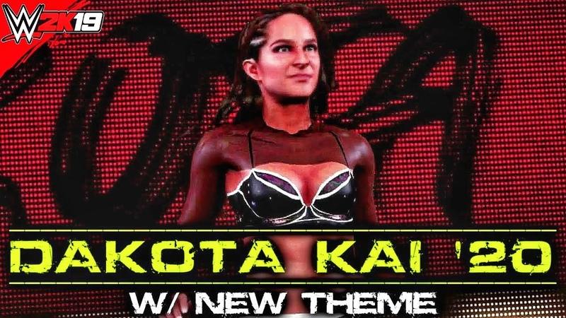 Dakota Kai 2020 NXT WWE 2K19 PC Mods