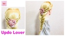 Elsa❄️New Wedding Heart Fishtail Hairstyle FROZEN2 By Disney🌸Easy Tutorial