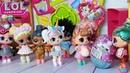 ВСЕ КУКЛЫ ЛОЛ СЮРПРИЗ В ОЧЕРЕДИ ЗА КИНДЕР СЮРПРИЗАМИ! куклы ЛОЛ сюрприз Мультики lol surprise