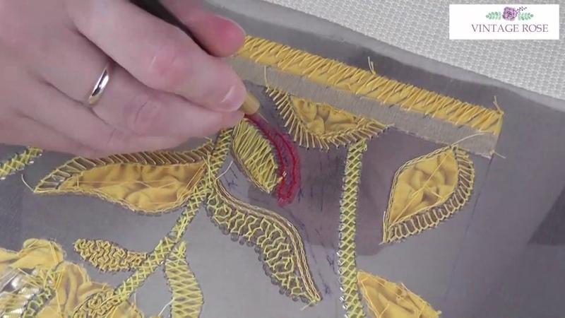 Атомный бум от Диора Пятая серия вышивального сериала Dior Embroidery class