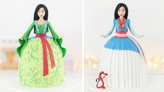 DISNEY PRINCESS: MULAN DOLL CAKE - Tan Dulce