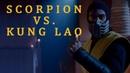 SCORPION VS. KUNG LAO - MORTAL KOMBAT. CONQUEST. Soundtrack_RE - Recorded version. [by UnFaces]
