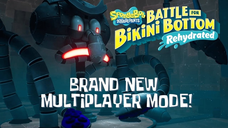 SpongeBob SquarePants Battle for Bikini Bottom Rehydrated Multiplayer Trailer