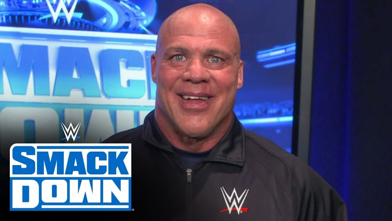 Matt Riddle gets SmackDown introduction from Kurt Angle SmackDown May 29 2020