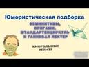 КУРАЖ БОМБЕЙ - Юмористическая подборка феминитивы, оригами, штандартенциркуль и Ганнибал Лектер