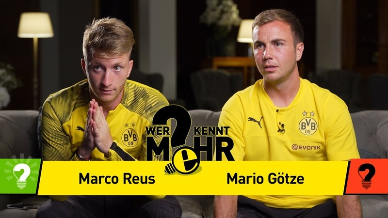 Marco Reus vs. Mario Götze   Who knows more - The BVB-Duel-Revenge