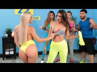 Brazzers Abella Danger, Katana Kombat - Working Out Their Anger NewPorn2020
