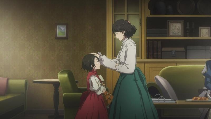 Kansai 10 серия Виолетта Эвергарден Violet Evergarden