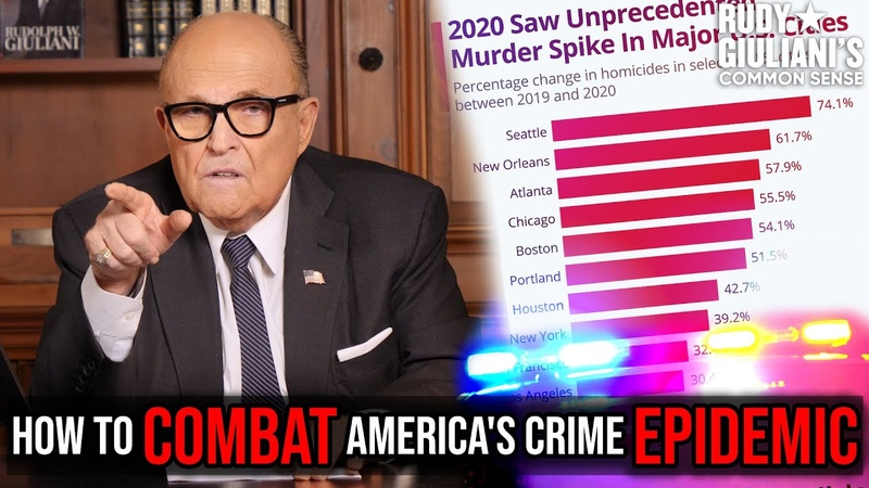 HERE Is How You COMBAT America's Crime EPIDEMIC Rudy Giuliani Ep 111
