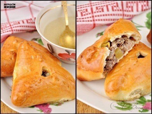 Идеальные пирожки с мясом и картошкой