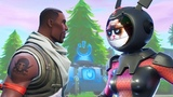 Gemini Fortnite Grumpy Face all Dances + A Fortnite Short Film DON'T LAUGH AT GRUMPY CAT!