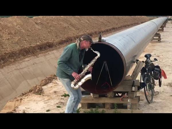 Neue Erdgasleitung am Rande von Mönchengladbach bei mir umme Ecke