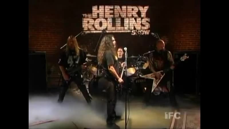SLAYER Cult Live at The Henry Rollins Show 2007