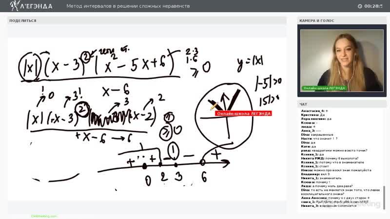 Метод интервалов в решении сложных неравенств Математика ЕГЭ 2019