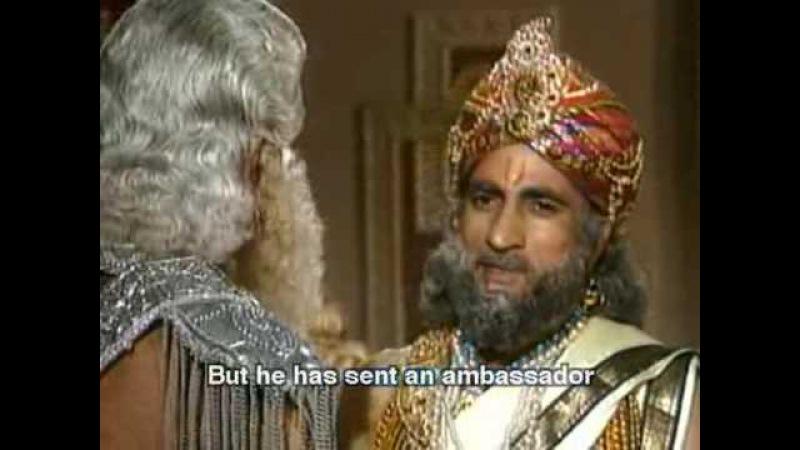 Махабхарата I Mahabharat - 62 Серия из 94 (1988-1990)