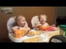 дети смеются, тройняшки, милое и смешное видео