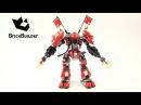 Конструктор Bela Ninjago 10720 - Огненный Робот Кая аналог Lego 70615
